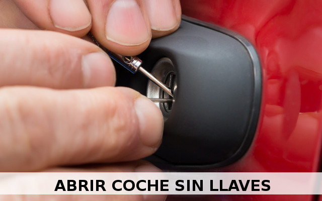 abrir coche sin llave