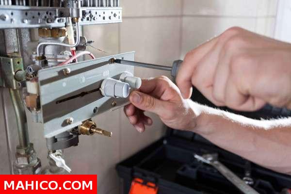 Reparación calderas de gas